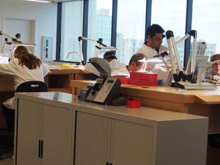 The Miami based Chopard Service Center also houses a 5S training facility.