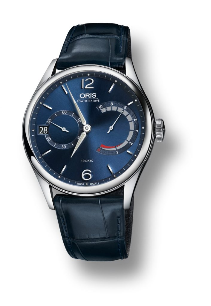 Oris Artelier Caliber 111with blue dial