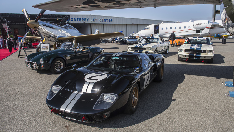 Fast Focus: Baume & Mercier Displays Capeland Shelby Cobra Legendary Driver Watches at McCall's Motorworks Revival