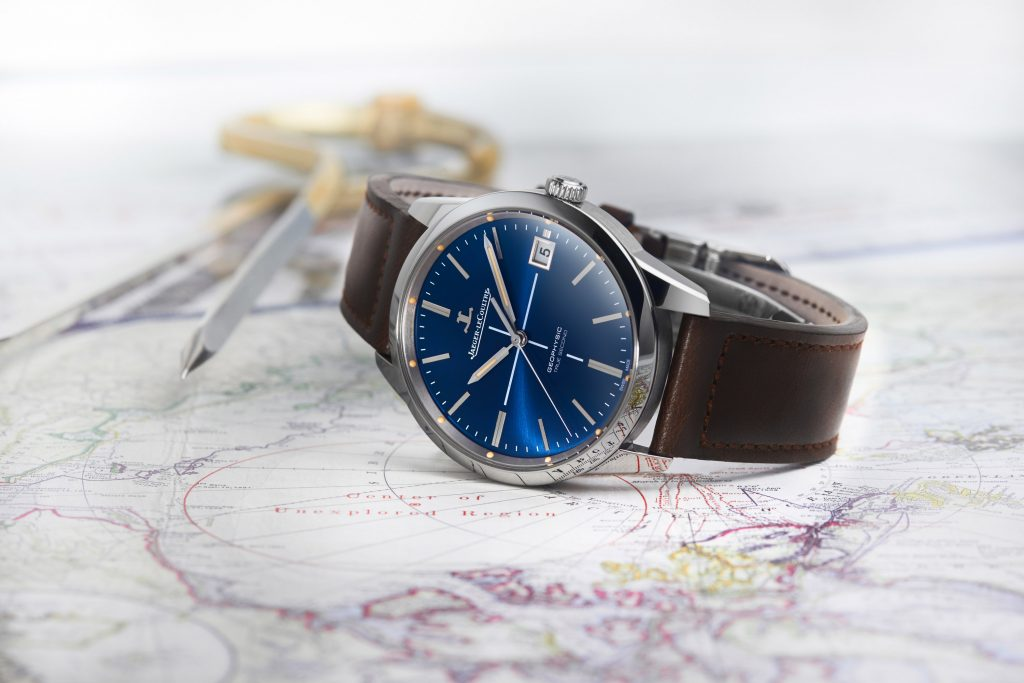 Jaeger-LeCoultre Geophysic True Second Limited Edition Blue watch