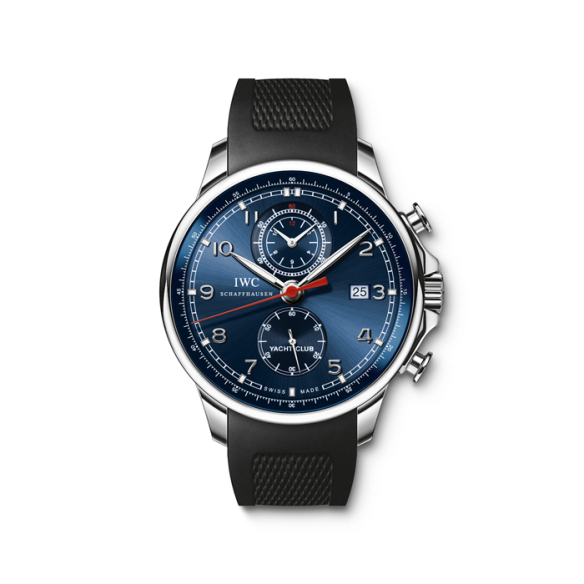 IWC Portuguese Yacht Club Chronograph Edition Laureus 2013 is the watch of choice for Ottmar Hitzfeld.