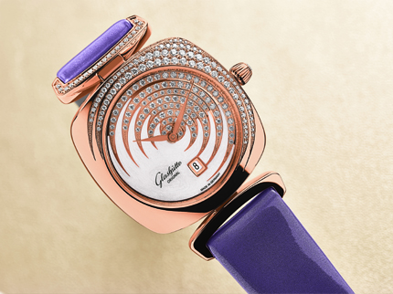 Glashutte Original's newest Pavonina Collection