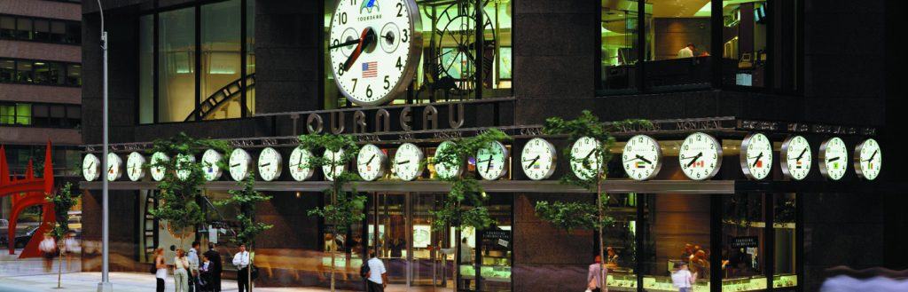 Tourneau NY TimeMachine store front