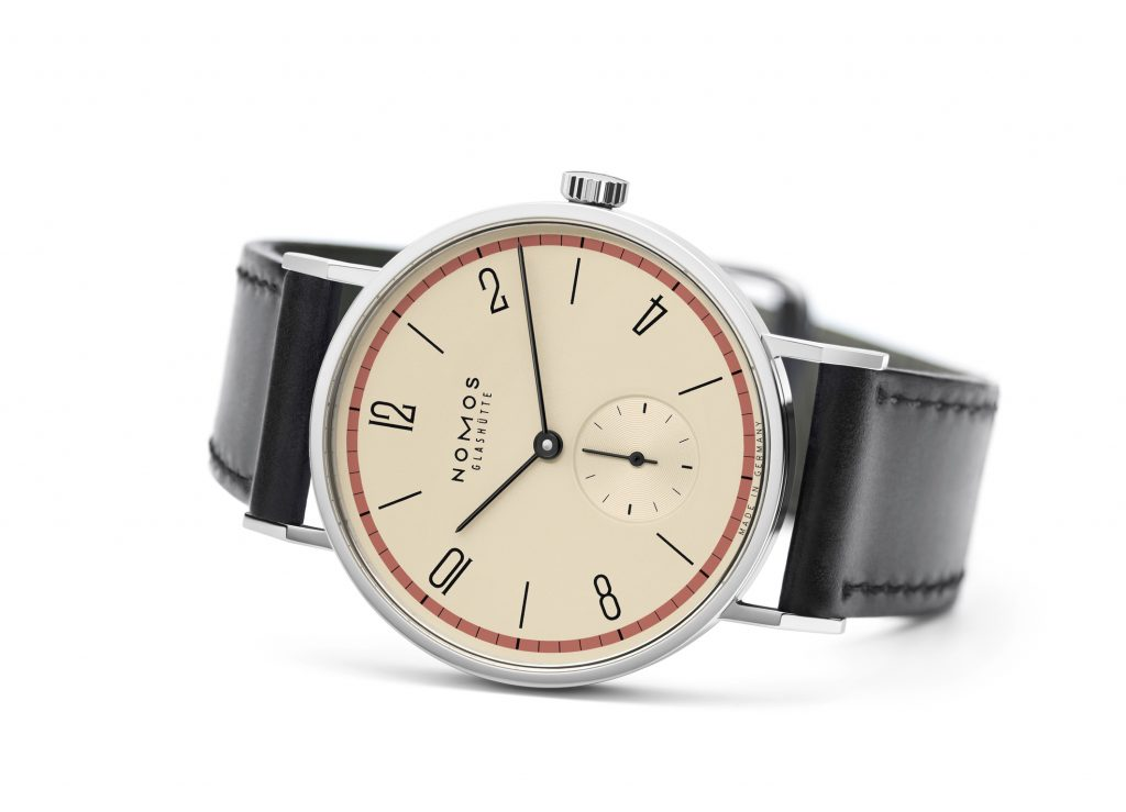 NOMOS Tangente Bauhaus limited edition watches