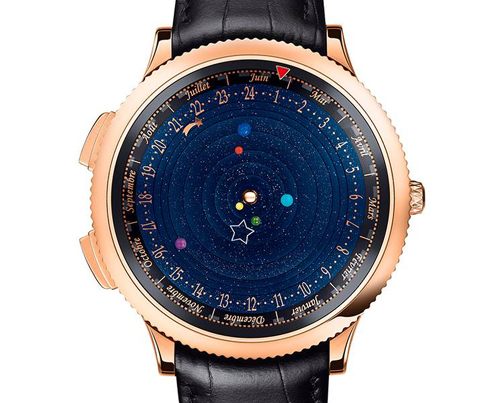 Midnight Planétarium Poetic Complication in  -Pink gold case, 44mm diameter