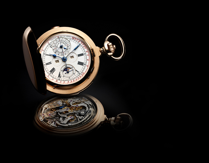 Heritage Collection: 1895 Grande Complication Pocket Watch with Jaeger-LeCoultre caliber