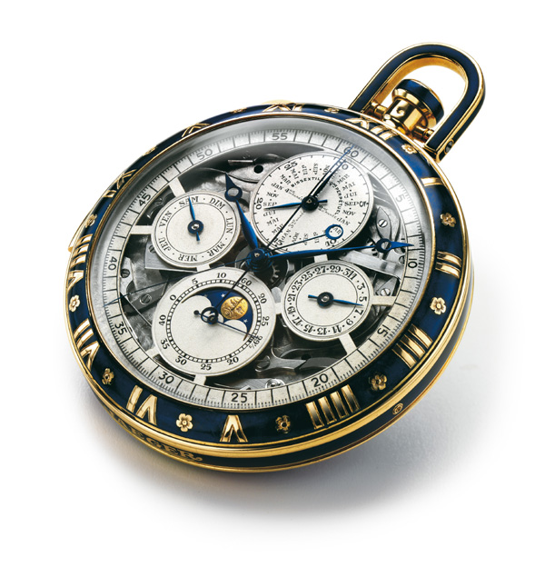 The wristwatch edition is based on this 1928 pocket watch.