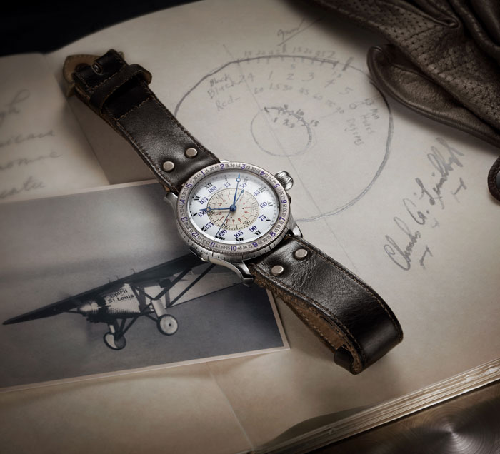 Longines Hour Angle Watch is part of the brand's Heritage Exhibit at WatchTime New York 2017.