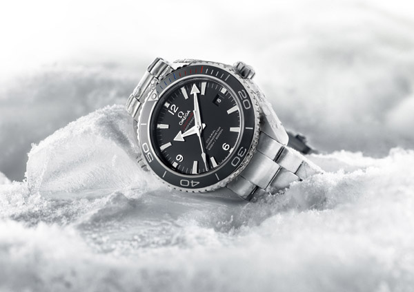 Omega Seamaster Planet Ocean Sochi 2014 watch