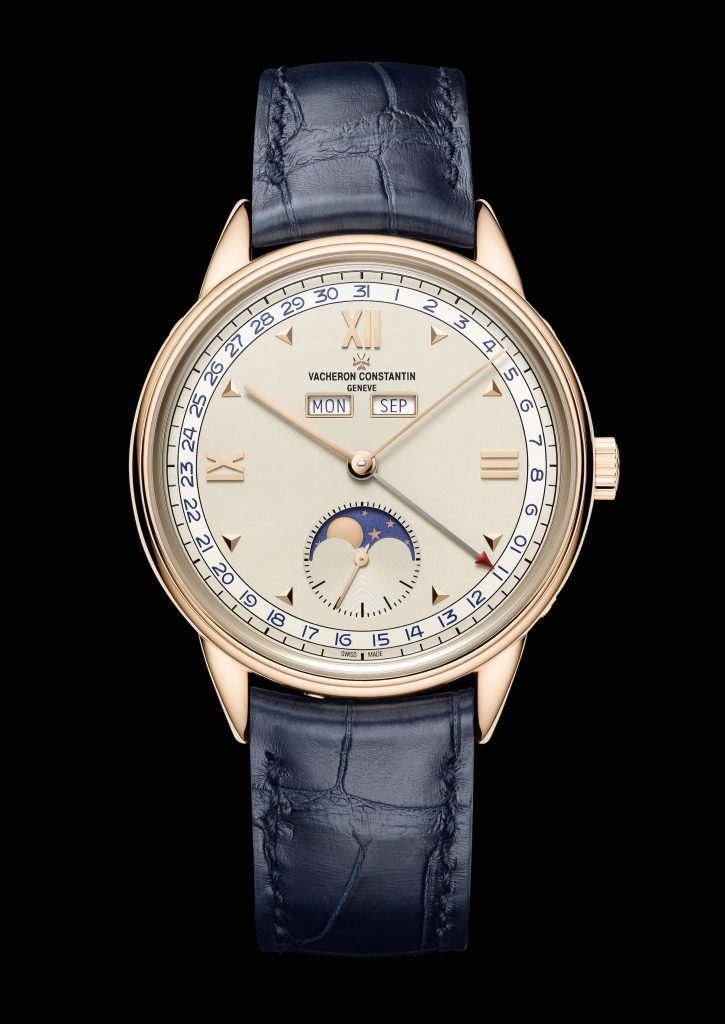 Each of the Vacheron Constantin Historiques Triple Calendar watches are inspired by pieces from the 1940s.