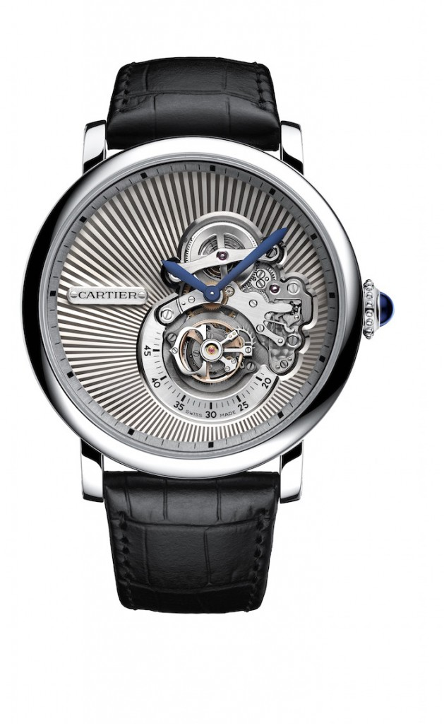 Replica Rotonde de Cartier Reversed Tourbillon