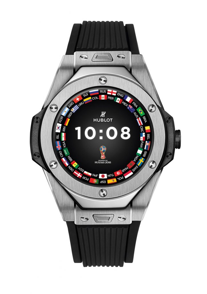 Hublot Big Bang Referee 2018 FIFA World Cup Russia™ Connected Watch, announced at Baselworld 2018