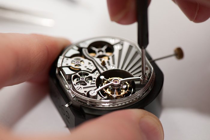 Bulgari brings movement making in house  for certain key watches.