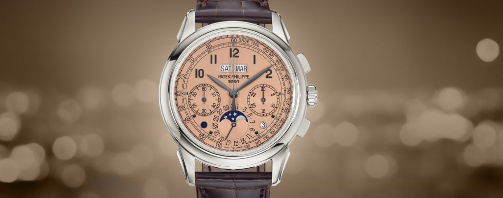 "Patek Philippe Ref. 5270 Perpetual Calendar Chronograph as unveiled at Baselworld 2018 and on the fourth episode of this season's Showtime series ""Billions"" -- shot at Wempe Jewelers."
