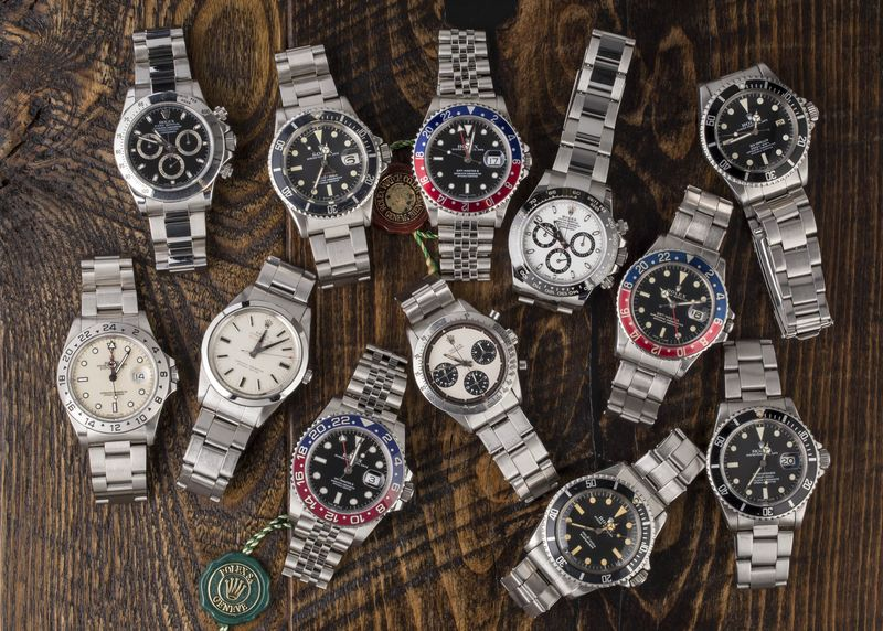 Bob's Watches is auctioning 12 Rolex watches -- without a buyer's premium.