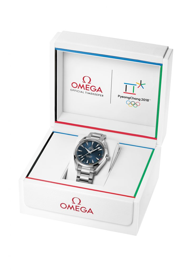 Omega Pyeong-Chang limited edition Olympic watch.