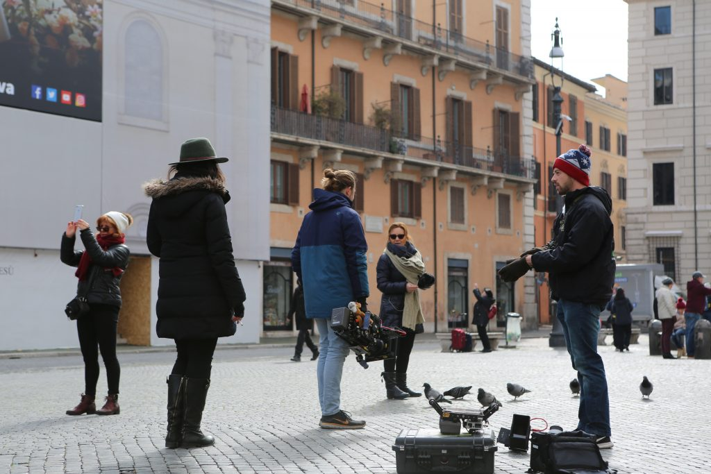 "Behind the Scenes in Italy, shooting ""Conducting a Revolution"""