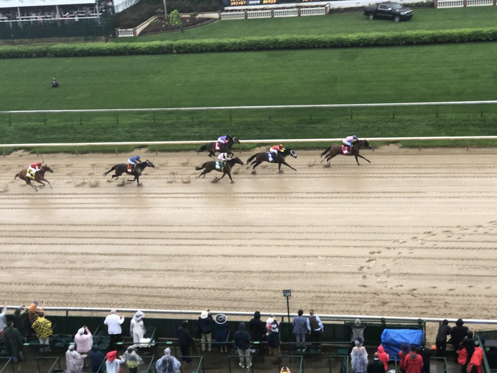 It was a muddy track on the day of the Kentucky Derby 2018, where for the seventh year in a row Longines is the Official Timekeeper and Official Watch.