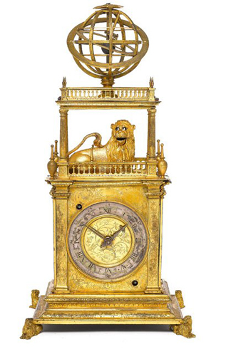 17th Century Table Clock