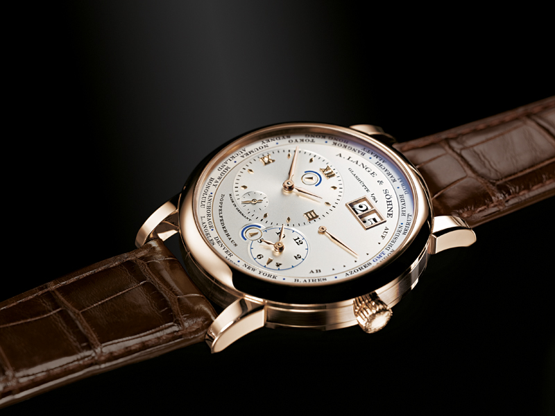 Just 100 pieces of the A. Lange & Sohne Special Edition Lange 1 Timezone in honey gold will be made.