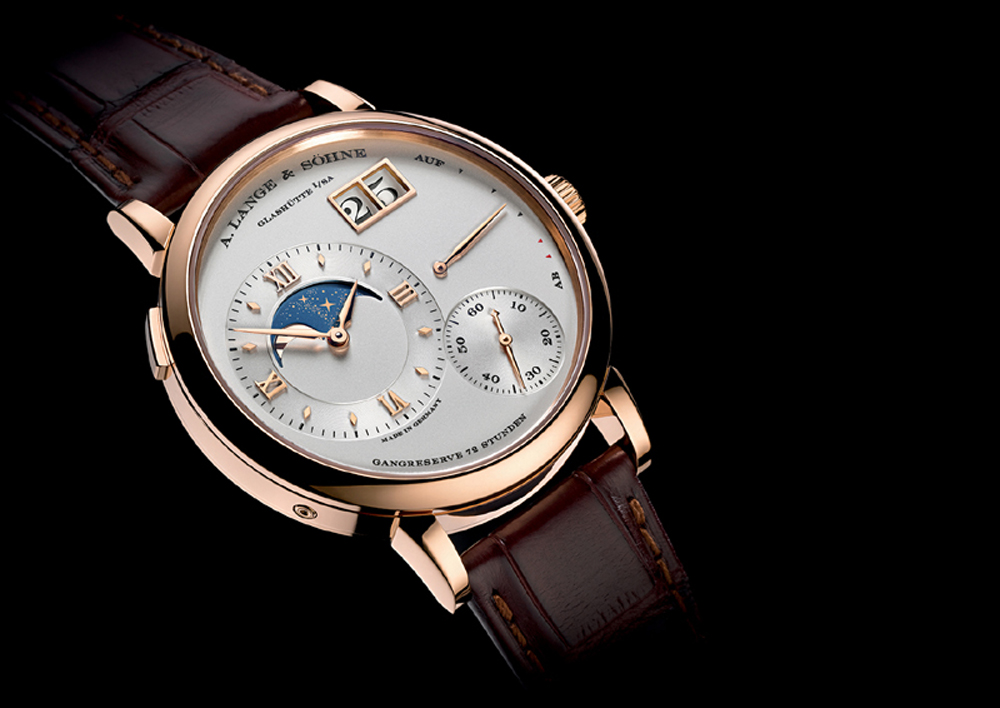 A. Lange & Sohne's  Grand Lange 1 Moon Phase is designed to remain accurate for 122.6 years.