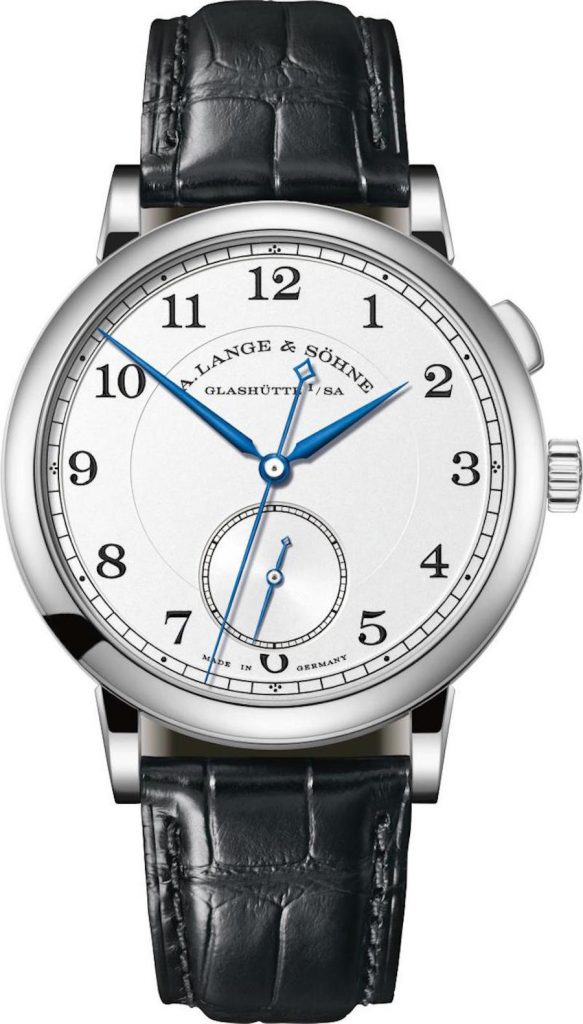Pre-SIHH 2018: A. Lange & Sohne 1815 Tribute to Walter Lange watch in white gold limited edition, $47,000.