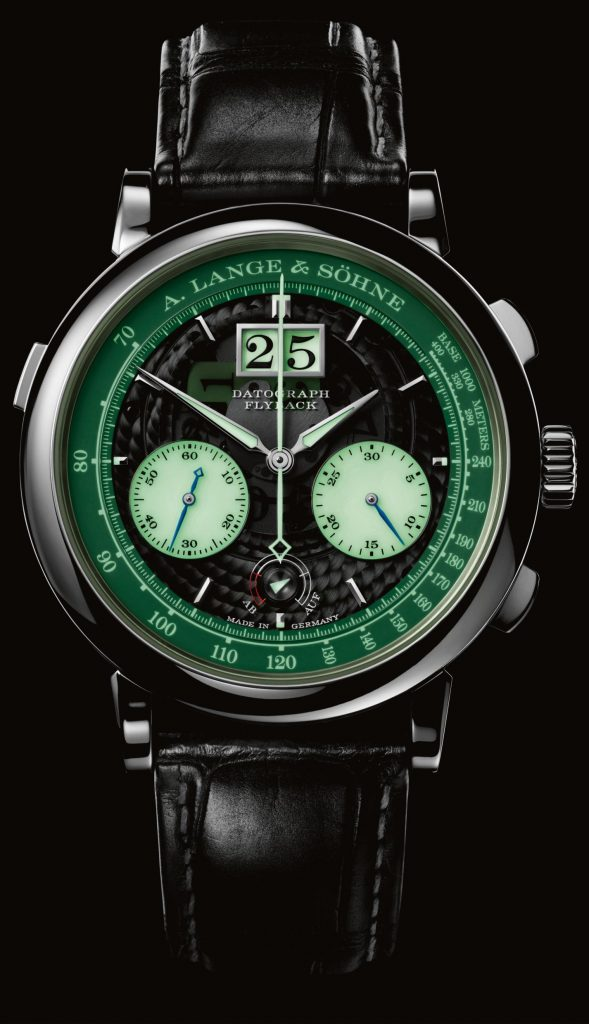 A. Lange & Sohne platinum Datograph Up/Down Lumen will be made in a limited edition of 200 pieces.
