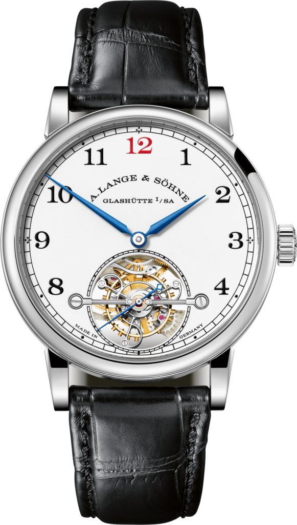 A. Lange *& Sohne 1815 Tourbillon Enamel watch