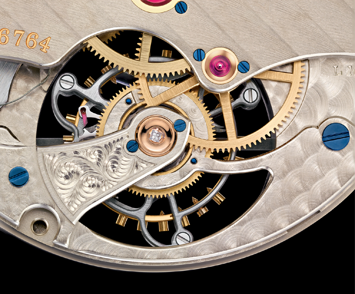 Lange calibre L102.1  is manually wound