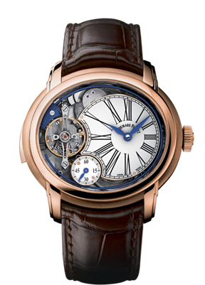 Audemars Piguet Millenary Minute Repeater in rose gold.