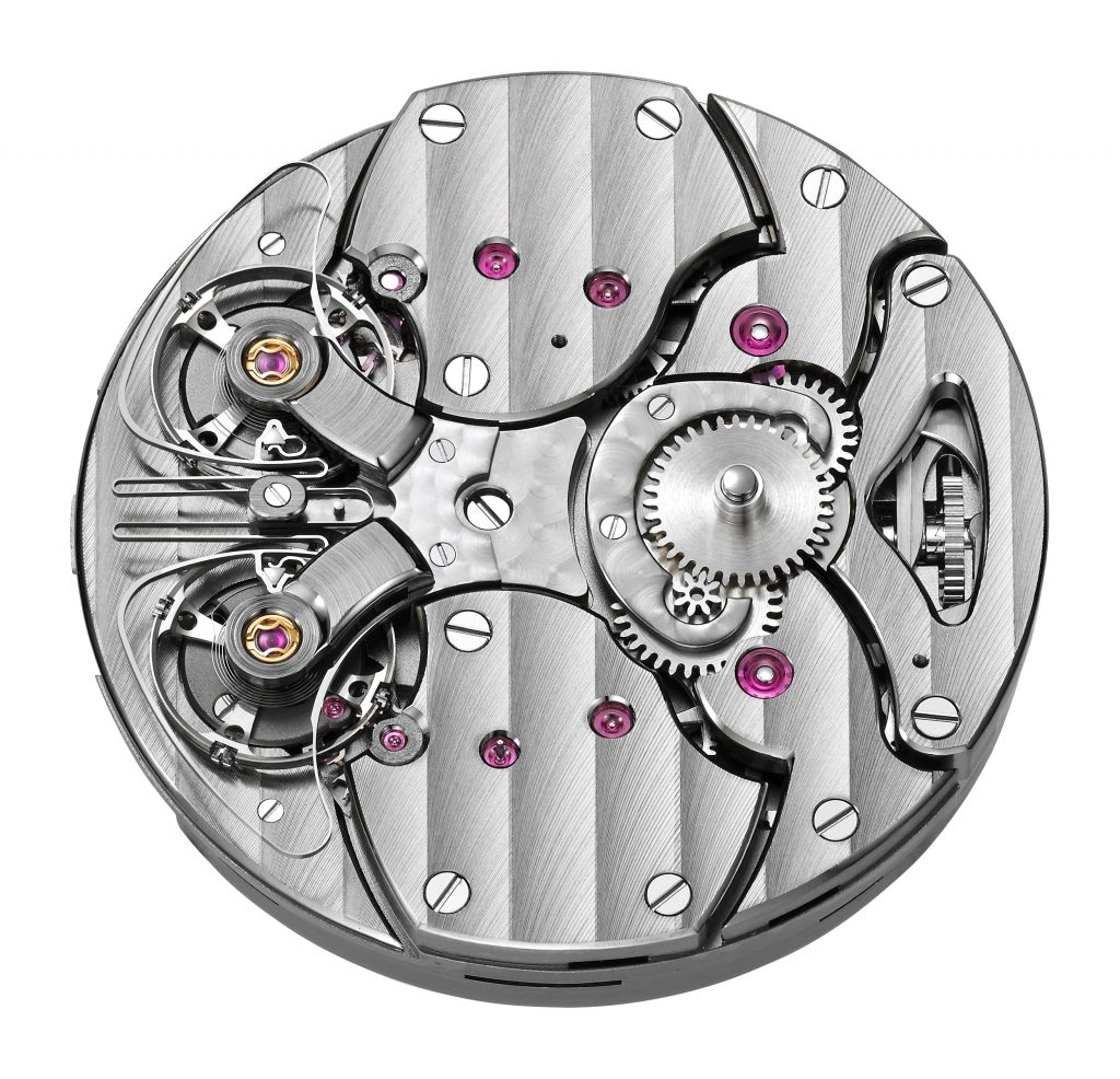 Armin Strom ARF 16 powers the new Armin Strom Pure Resonance Water and Fire watches unveiled at Watches & Wonders Miami.