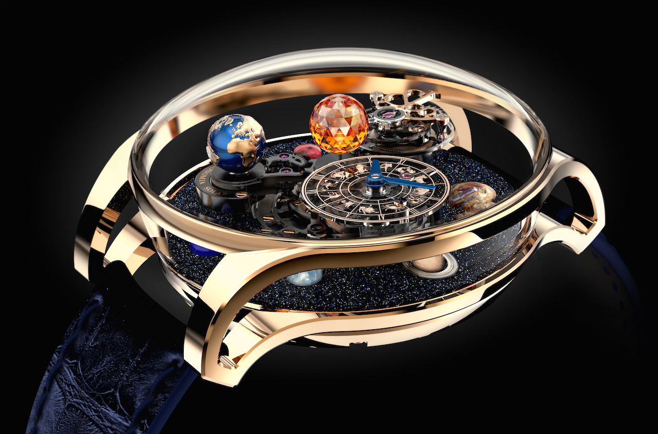 planets rotating wrist watch - photo #8