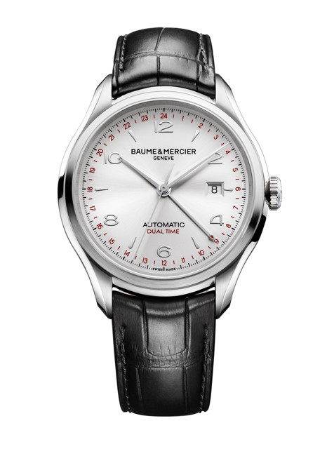 Baume & Mercier Clifton GMT -- vintage inspired for today's traveler