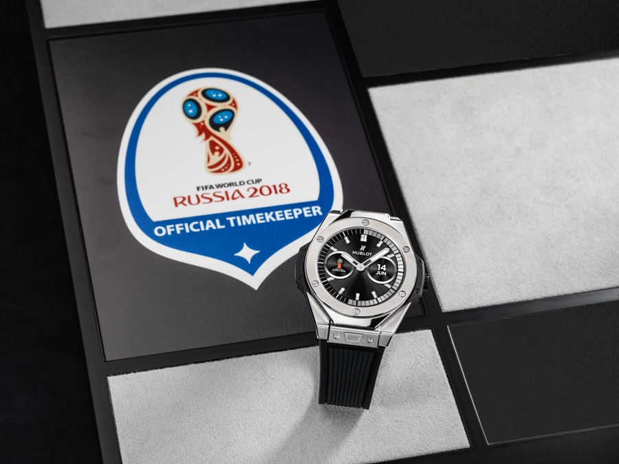 Both analog and digital versions of the Hublot Big Bang Referee 2018 FIFA World Cup Russia™ Connected Watch, are available.