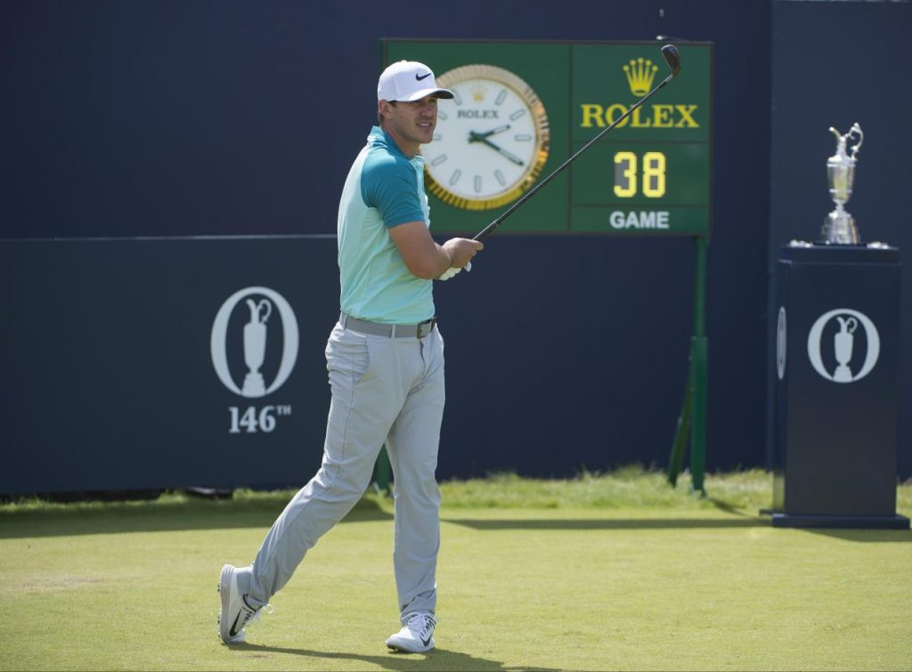 ROLEX TESTIMONEE BROOKS KOEPKA ON DAY FOUR AT THE 146TH OPEN