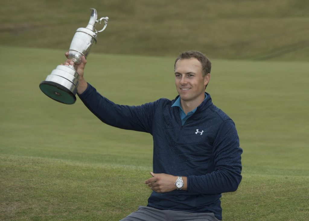 ROLEX TESTIMONEE AND 2017 CHAMPION GOLFER OF THE YEAR, JORDAN SPIETH