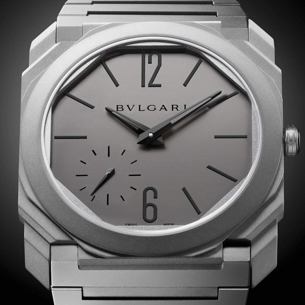 Top Six Men's Watches of 2017: Bulgari Octo Finissimo Automatic- the world's thinnest automatic watch.