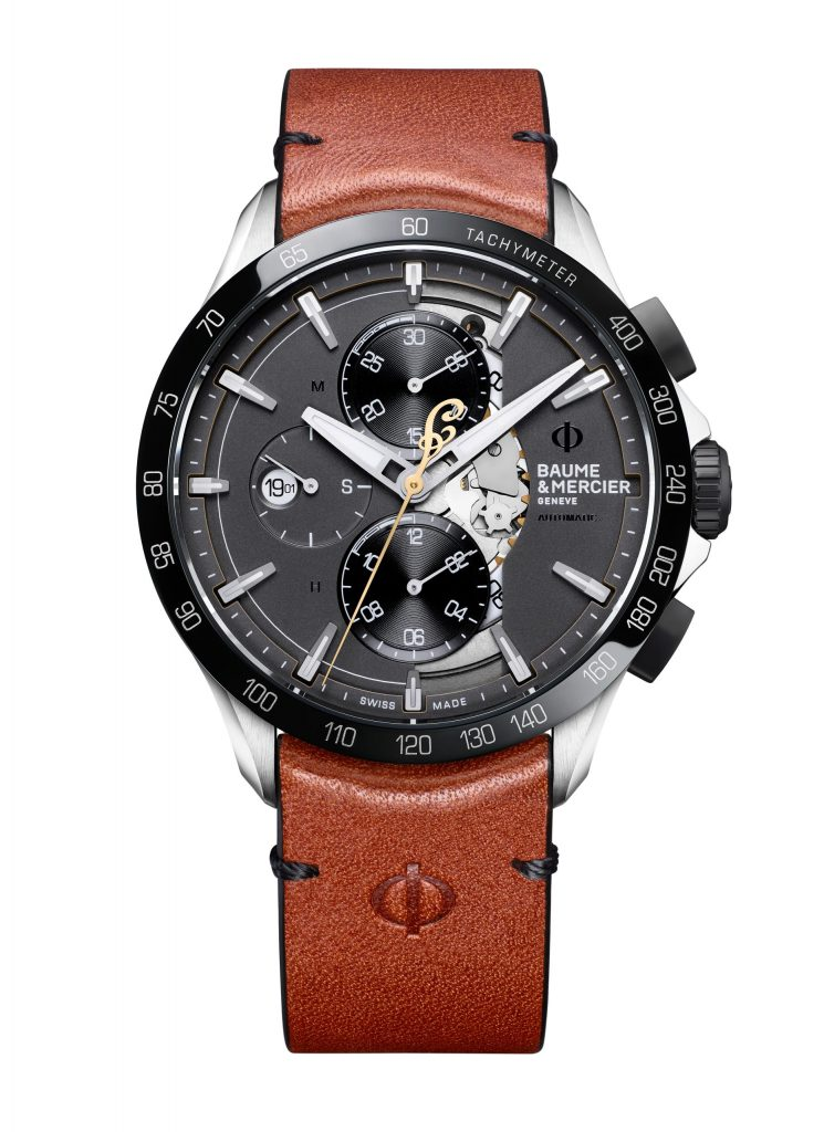 Baume & Mercier Clifton Club Indian Legend Tribute Scout watch takes its design cues from the motorcycle.