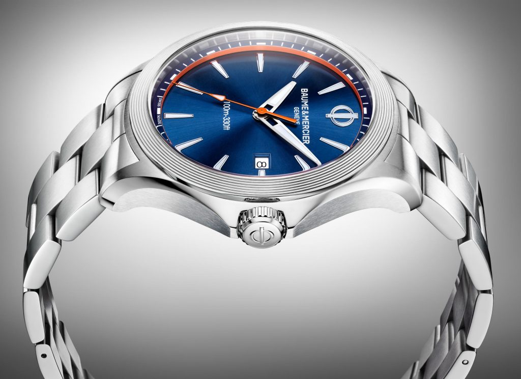 The Baume & Mercier Clifton Club Quartz watches have a sporty, go-anywhere feel.