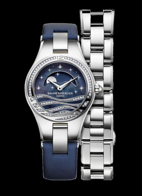 Baume & Mercier Linea Night watch created in a limited edition of 100 pieces.