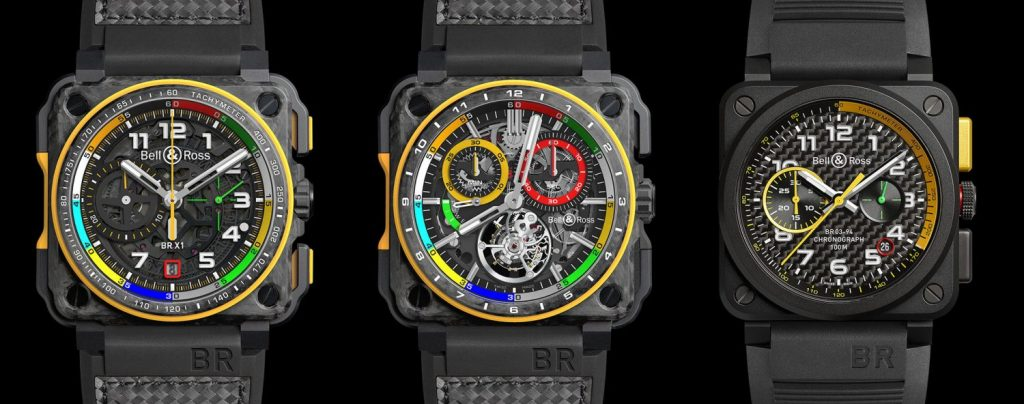 Bell & Ross BR RS17 Chronograph trilogy unveiled at Baselworld 2017