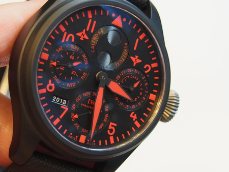 The Big Pilot's Perpetual Calendar Top Gun Boutique Edition watch is created in a run of just 250 pieces.