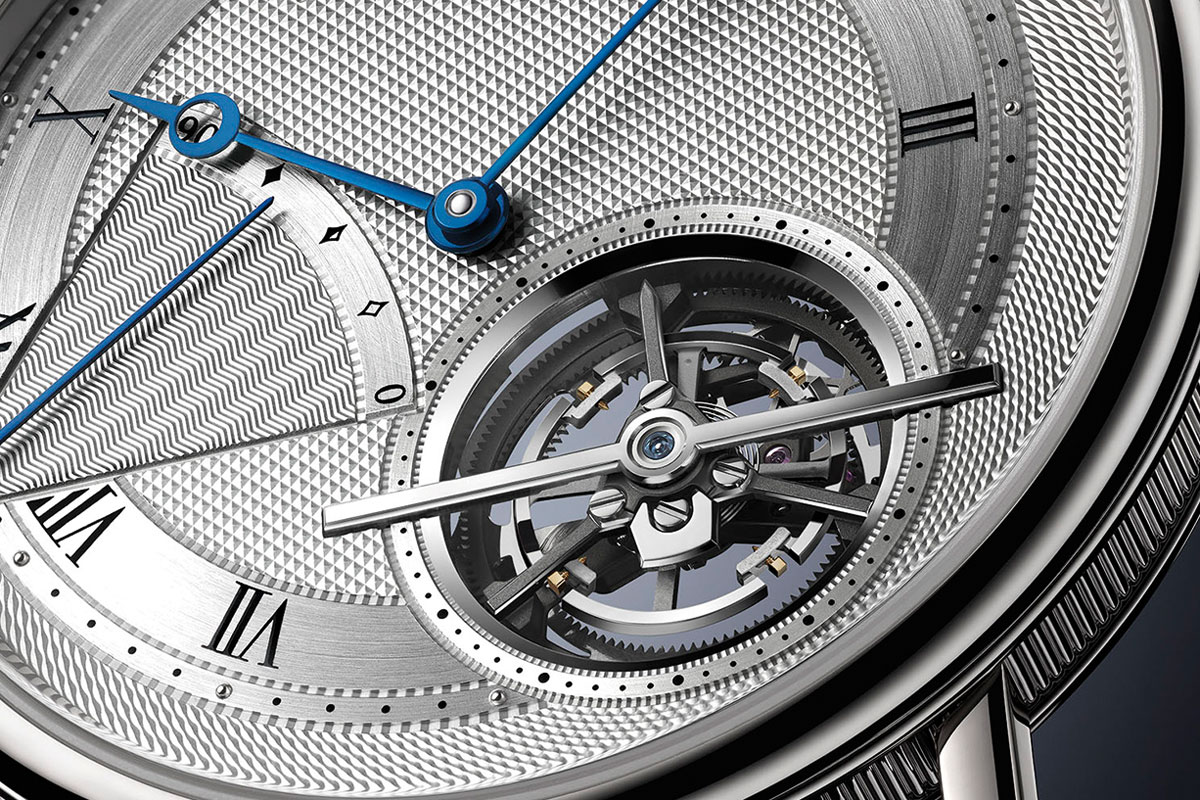 he Breguet Classique Tourbillon Extra-Plat Automatiique breaks records with its slimness