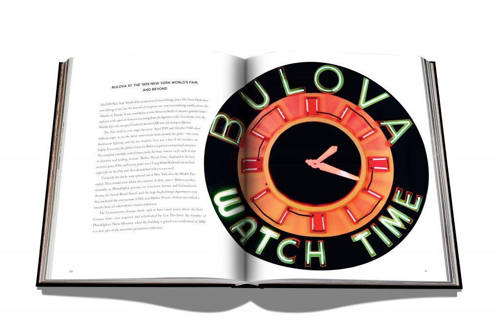 """It's Bulova Time"" -- a famous phrase in the 20th century... part of the list of firsts created by Bulova. It is the subject of the newest book: Bulova: A History of Firsts."