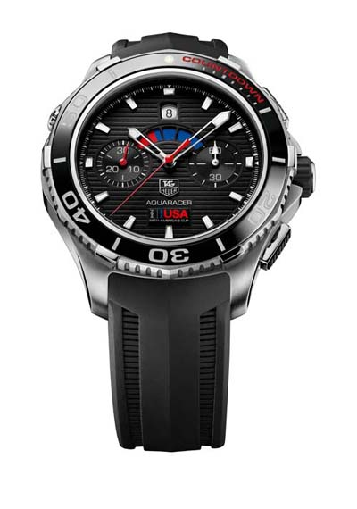 TAG Heuer Aquaracer 500M Calibre 72 Limited Edition Oracle Team USA 2013
