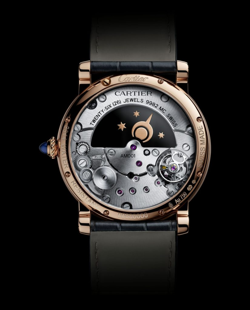 SIHH 2018: The Rotonde de CArtier Mysterious Day and Night is powered by the Caliber 9982 MC movement