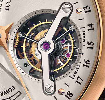 The Carl F. Bucherer  Manero Tourbillon LE celebrates the company's 125th aniversary.