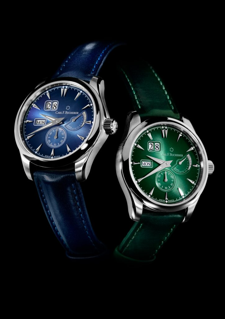 The Carl F. Bucherer Manero Power Reserve watches are a bold statement of color, design and craftsmanship.