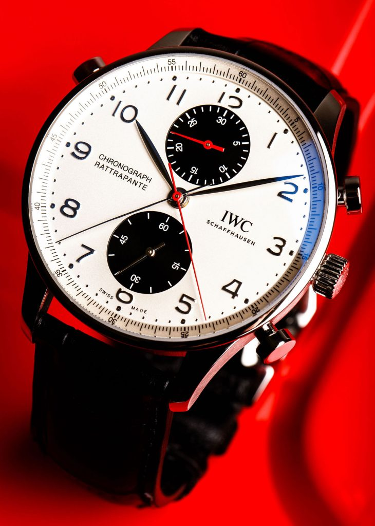 Meet the IWC Schaffhausen Portugieser Chronograph Rattrapante Limited Edition Boutique Canada watch.