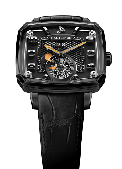 Hautlence Destination in black PVD